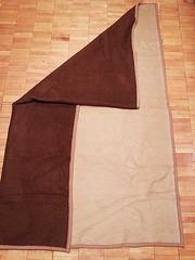 Одеяло двухцветное