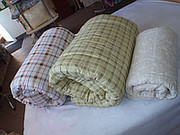 Одеяла,  топперы,  наматрасники из конопли